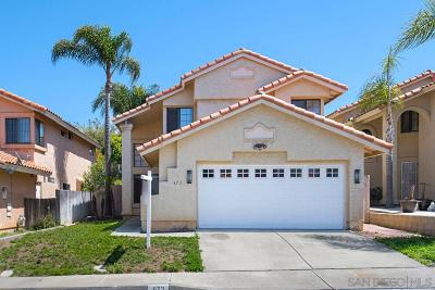 Vista Single Family Home Contingent: 673 Paseo Rio