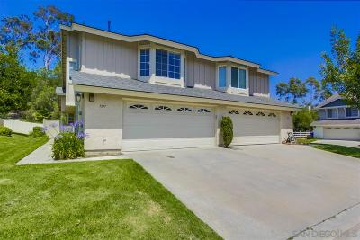 San Diego County Attached For Sale: 1337 Manzana Way