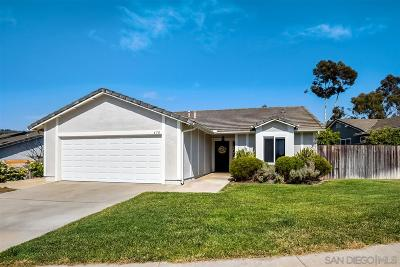 San Marcos Single Family Home For Sale: 670 Maybritt Cir