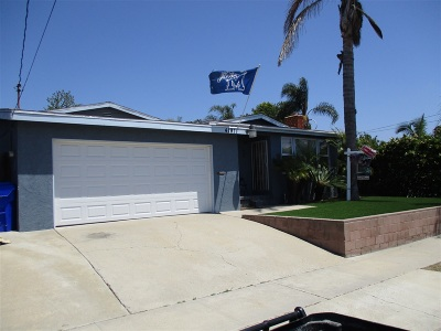 San Diego CA Single Family Home For Sale: $675,000