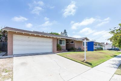 Chula Vista CA Single Family Home For Sale: $575,000