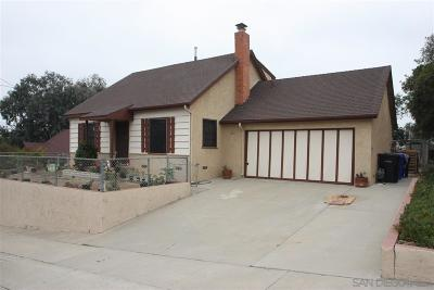 San Diego Single Family Home For Sale: 6410 Garber Ave