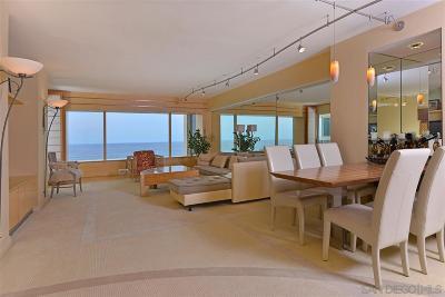 La Jolla Attached For Sale: 939 Coast Blvd. #9E