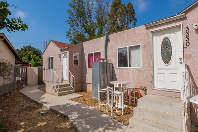 San Diego Multi Family 2-4 For Sale: 3330-3332 L St