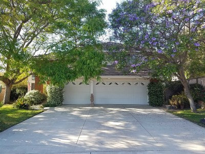 Oceanside Single Family Home For Sale: 4656 Caneel Bay Ct