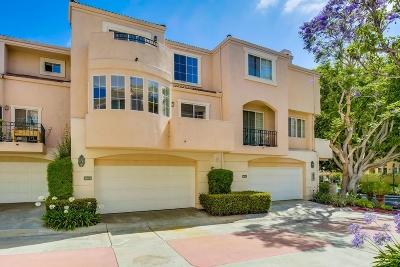 San Diego Townhouse For Sale: 5163 Renaissance #B