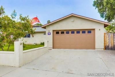 Oceanside Single Family Home For Sale: 620 Ann St