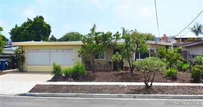 Chula Vista Single Family Home For Sale: 1163 Ocala