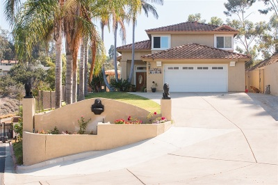 Bonita Single Family Home For Sale: 3676 Valley Road