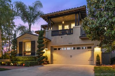 Carlsbad Single Family Home For Sale: 6302 Paseo Descanso