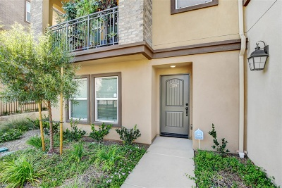 San Marcos Townhouse For Sale: 359 Mission Terrace Ave