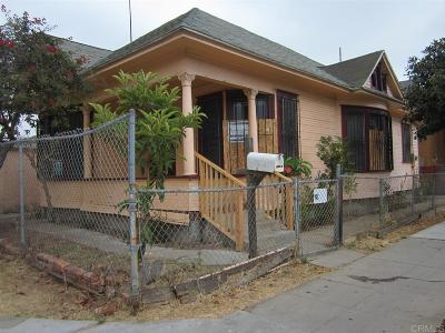 San Diego Single Family Home For Sale: 845 S 29th St