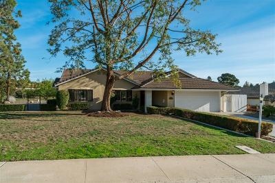 San Diego Single Family Home For Sale: 12497 Conquistador Way