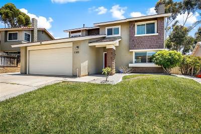 San Diego Single Family Home Sold: 1145 Larwood Rd