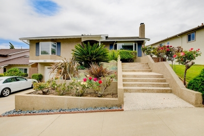 San Diego CA Single Family Home For Sale: $1,099,995