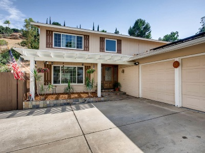 El Cajon Single Family Home For Sale: 2064 Ventana Way