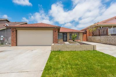 San Diego Single Family Home For Sale: 2331 Lanao Ln