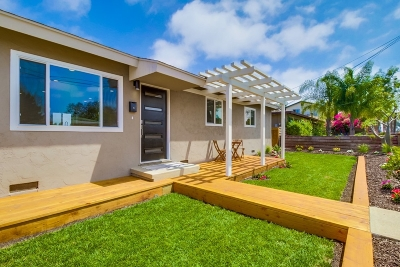 San Diego Single Family Home For Sale: 1763 Pentuckett Ave