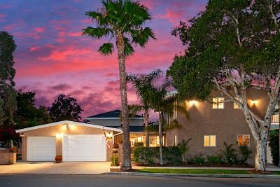 Coronado Single Family Home For Sale: 990 Cabrillo Avenue