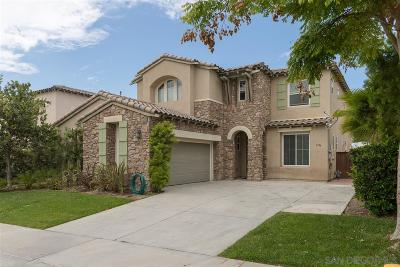 Chula Vista Single Family Home For Sale: 1346 Blue Sage Way