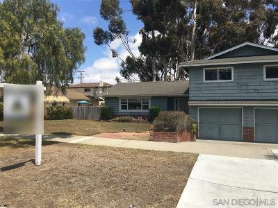 Oceanside Single Family Home For Sale: 2949 Mesa Drive