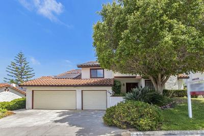 Escondido Single Family Home For Sale: 746 Inspiration Lane