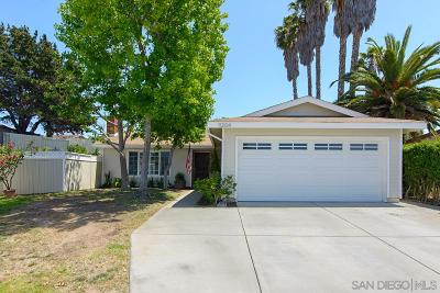 San Diego Single Family Home For Sale: 11204 Dalby Place