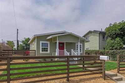 San Diego Single Family Home For Sale: 3851 Superba St