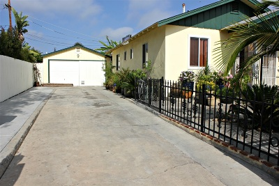 San Diego Single Family Home For Sale: 3637 Roselawn Ave