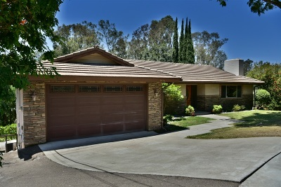 El Cajon Single Family Home For Sale: 1996 Milford Place