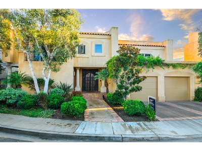 Coronado Single Family Home For Sale: 6 Sixpence