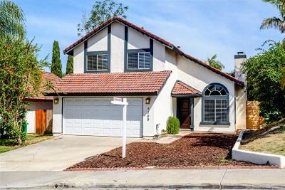 Oceanside Single Family Home For Sale: 4108 Diamond Cir