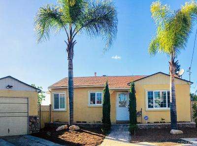 San Diego CA Single Family Home For Sale: $557,000