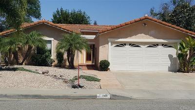 Escondido Single Family Home For Sale: 1901 Cortez Ave