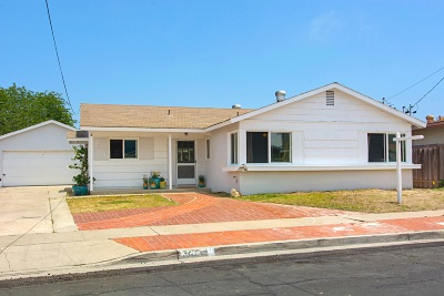 San Diego CA Single Family Home For Sale: $765,000