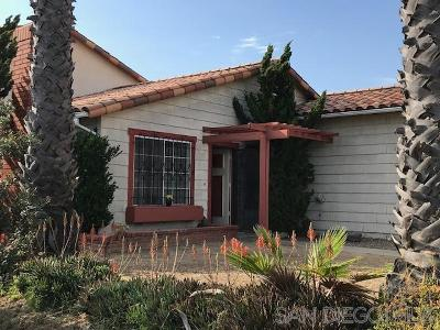 San Diego CA Single Family Home For Sale: $467,000