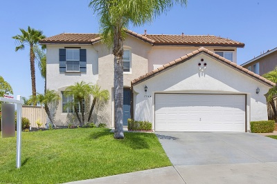 San Marcos Single Family Home For Sale: 1344 Corte Bagalso