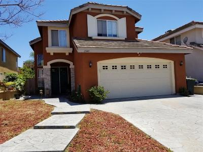 Chula Vista Single Family Home For Sale: 1949 Marquis Ct