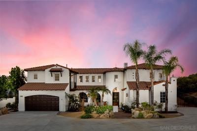 Poway Single Family Home For Sale: 13625 Antelope Sta
