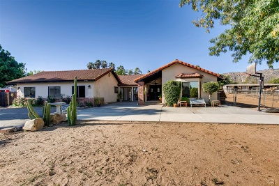 San Marcos CA Single Family Home For Sale: $799,900