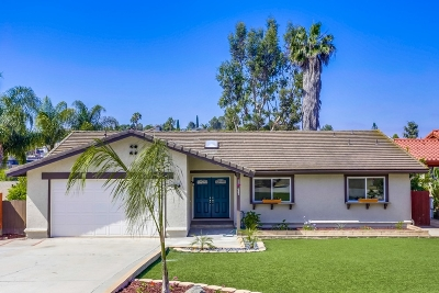 Vista CA Single Family Home For Sale: $539,900