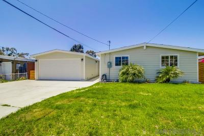 Chula Vista Single Family Home For Sale: 145 Jamul Ave