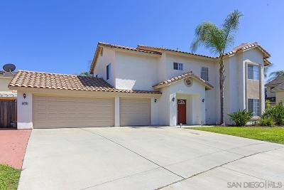 Escondido CA Single Family Home For Sale: $559,900