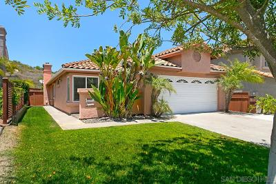 Vista CA Single Family Home For Sale: $585,000