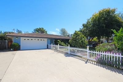 Fallbrook CA Single Family Home For Sale: $525,000
