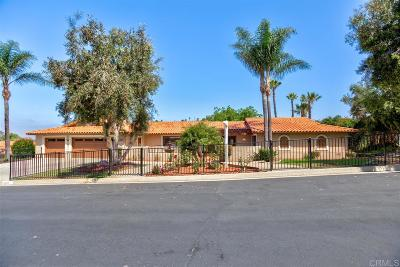 Vista CA Single Family Home For Sale: $715,000