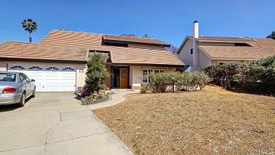 El Cajon Single Family Home For Sale: 1736 Kadwell Way