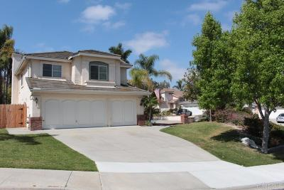 Oceanside Single Family Home For Sale: 4801 Contour Court