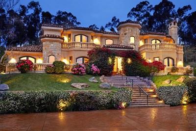 Rancho Santa Fe Single Family Home For Sale: 1820 Horseman's Ln