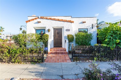 Norma Heights, Normal Heights Single Family Home For Sale: 3689 Monroe Avenue
